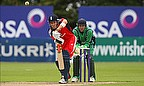 Washout Puts England Through And Ireland Out