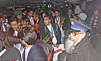 A Hero's Welcome For Afghanistan Cricketers