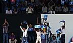 India Fans Celebrate World Cup Semi-Final Success