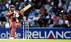 Simmons Century Sets Up 40-Run Win For West Indies