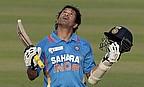 Sachin TON-Dulkar makes history