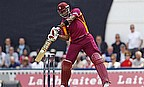 Taylor Hits Ton But West Indies Win