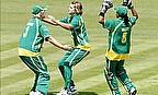 Van Niekerk Hat-Trick Downs West Indies