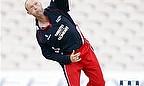Gary Keedy bowling for Lancashire