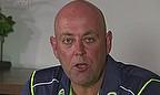 New Australia coach Darren Lehmann talks to the media