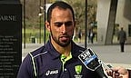Fawad Ahmed talks after being given Australian citizenship