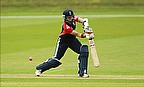 Arran Brindle hits out for England
