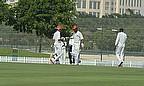 Afghan batsmen punch gloves
