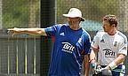 Batting Coach Graham Gooch Speaks To Ian Bell