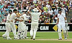Joe Root played a fine knock but made it to 87 before he was out to Nathan Lyon