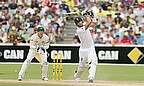 Kevin Pietersen took the attack to Australia, hitting three sixes in his 53