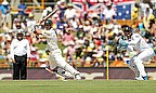 David Warner then cracked a century as Australia surged clear