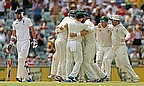 The moment that Australia knew they had finally regained The Ashes