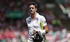 Kevin Pietersen walks off