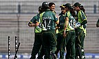 Pakistan Women celebrate