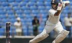 Sachin Tendulkar hits a shot