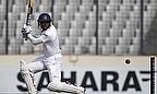 Kumar Sangakkara plays a shot