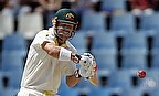 David Warner plays a shot