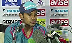Mushfiqur Rahim at a press conference