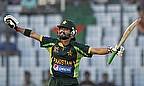 Fawad Alam celebrates