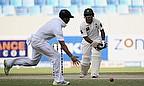 Asad Shafiq plays a shot