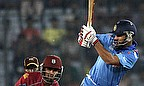 Shikhar Dhawan plays to leg