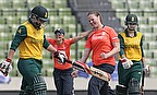 Anya Shrubsole celebrates one of her wickets