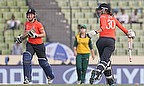 Sarah Taylor & Heather Knight finished off the game for England