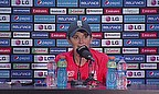 Charlotte Edwards addresses the media following the ICC Women's World Twenty20 final in Mirpur