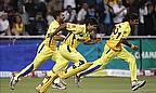Chennai Super Kings celebrate