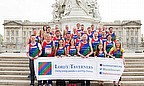 The 37 runners who took on the London Marathon to raise money for the Lord's Taverners