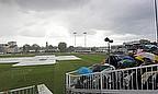 Rain stops play in county cricket
