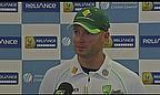 Video - Clarke Praises Australa's 'Exceptional' Attitude