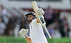 Joe Root punches the air