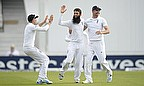 Moeen Ali celebrates with team-mates