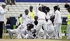 Sri Lanka celebrate victory