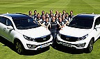 The ground-breaking partnership between Kia and England Women sees the contracted players handed brand new Kia Sportages