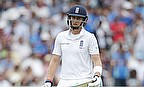 Joe Root exits after being dismissed
