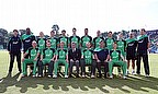 Ireland pose for a team photo