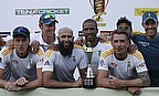 South Africa celebrate their series win in Sri Lanka