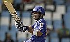 Naman Ojha playing for the Rajasthan Royals