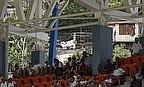 Fans watch an international in Grenada
