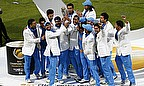 India celebrate winning the 2013 Champions Trophy