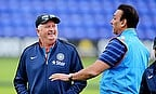 Duncan Fletcher and Ravi Shastri