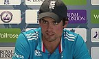 Alastair Cook says he plans to continue to lead England