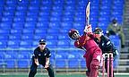 Deandra Dottin hits the winning runs