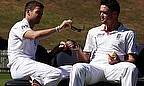 James Anderson (left) and Kevin Pietersen during their time as England team-mates