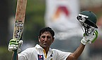 Younus Khan celebrates