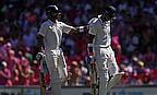Virat Kohli (left) and Lokesh Rahul both scored centuries as India fought back on day three