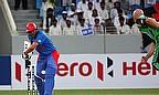 Javed Ahmadi bats